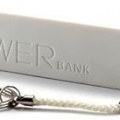 Cargador rectangular blanco - Powerbank