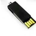 Mini pendrive giratorio negro