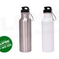Botella metálica apta para sublimar