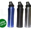 Botella metálica de acero