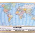 Mapamundi de escritorio para uso en comercio exterior y turismo