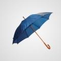 Paraguas con mango de madera. BBA84