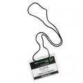 Porta credenciales E192 c/cordón colgante. 11*7 cm interior