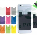 Porta tarjetas de silicona para celular