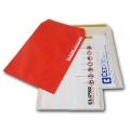 Sobre plástico cierre cinta bifaz 26x36,5 cm