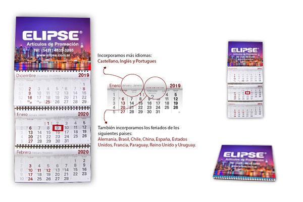 Calendario 2020 Portugues Com Feriados.Elipse Articulos De Promocion Y Regalos Empresariales